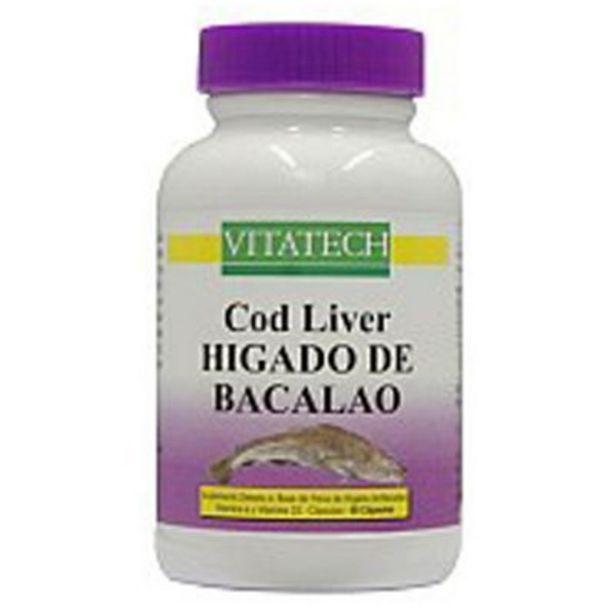 Oferta de Cod liver higado de bacalao x 60 caps por $879