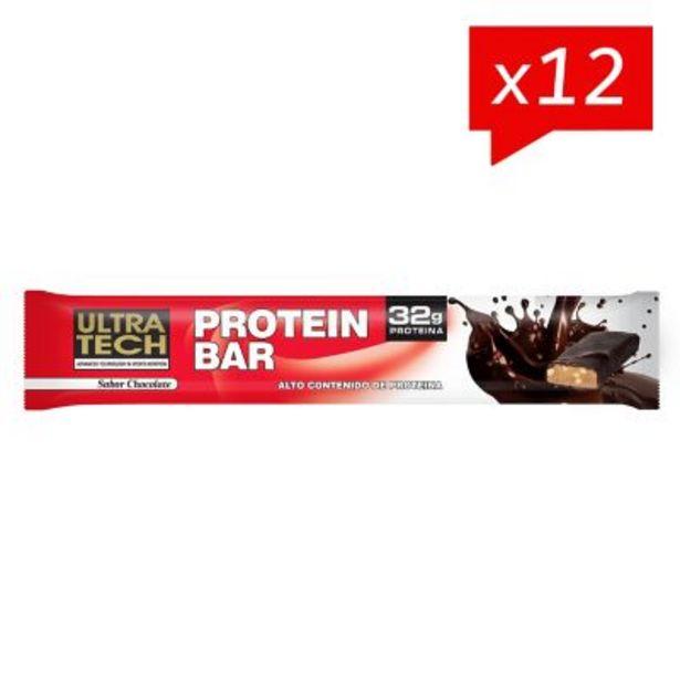 Oferta de Protein bar - 100 g chocolate x 12 unidades por $1799