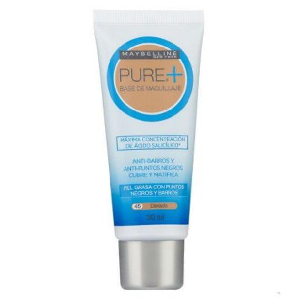 Oferta de Base de Maquillaje Pure Makeup Plus 30ml por $696