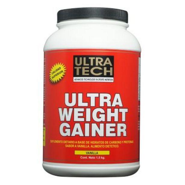 Oferta de Ultra weight gainer 1.5 kg vainilla por $1429