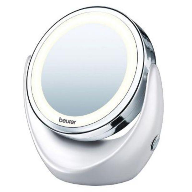 Oferta de Espejo cosmetico giratorio c/luz BS49 por $5190