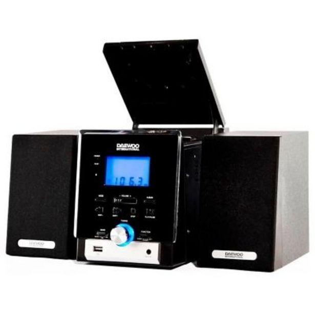 Oferta de Minicomponente Daewoo Dmw-8021 Mp3/cd/cdr/w 750W por $11299