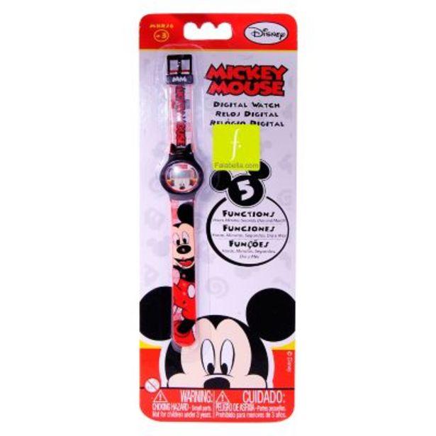 Oferta de Reloj digital Mickey Mouse por $493