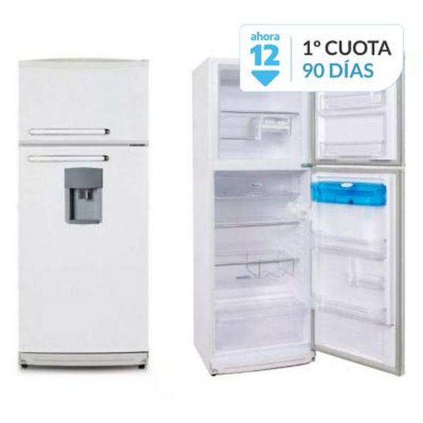 Oferta de Heladera 2F-1600BD blanca dispenser 330 lts por $47899