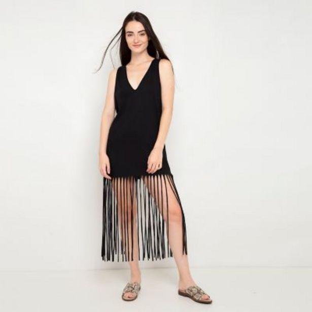 Oferta de Vestido playero flecos por $1290