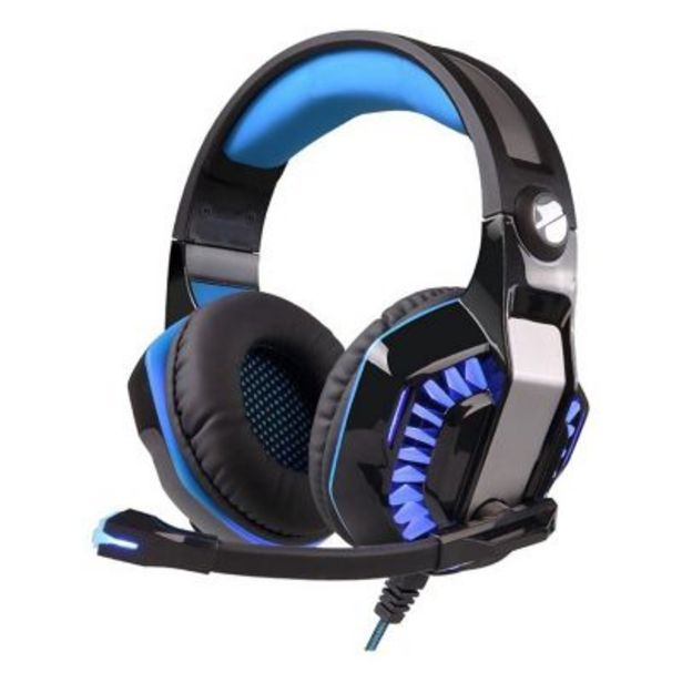 Oferta de Auriculares gaming Wayra G2000 pro PlayStation 4 Com por $4499