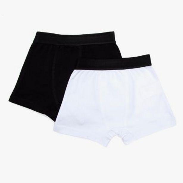 Oferta de Pack por 2 boxers lisos 2 a 8 por $699