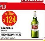 Oferta de Cerveza Stella Artois por $124