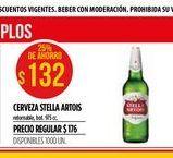 Oferta de Cerveza Stella Artois por $132