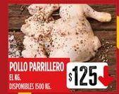 Oferta de Pollo parrillero  por $125