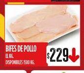 Oferta de Bifes de pollo  por $229