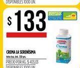 Oferta de Crema La serensisima  por $133