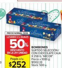 Oferta de Bombones surtido seleccion con chocolate caja x 258g ARCOR  por $252