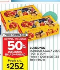 Oferta de Bombones surtido caja x 255gr  Bon o Bon por $252