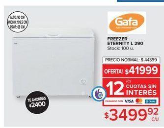 Oferta de Freezer Gafa por $3499,92