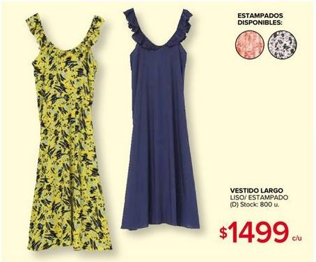 Oferta de Vestidos por $1499