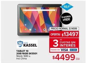 Oferta de Tablet por $13497