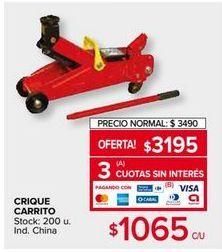 Oferta de Crique carrito por $3195