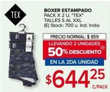 Oferta de Boxer por $644,25