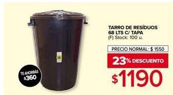 Oferta de Tarro de residuos por $1190