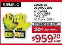 Oferta de Guantes deportivos por $959,2