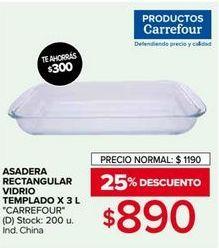 Oferta de Bandejas y fuentes Carrefour por $890