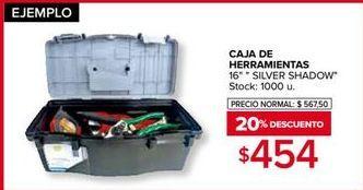 Oferta de Caja de herramientas por $454