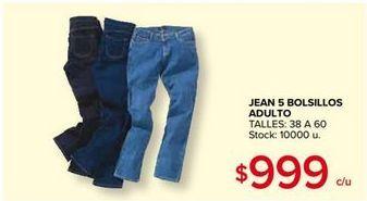 Oferta de Jeans por $999