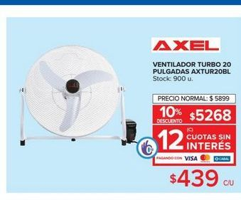Oferta de Ventilador turbo 20 AXEL  por $439