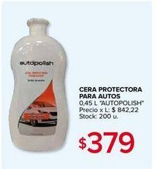 Oferta de Cera para coche por $379