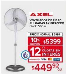 Oferta de Ventilador de pie Axel por $5399