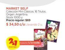 Oferta de Colección Mini Clásicos. 16 Titulos. Market Self por $34,5