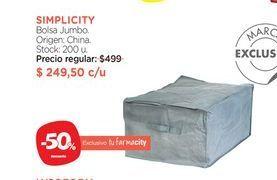 Oferta de Bolsa Jumbo. Simplicity por $249,5