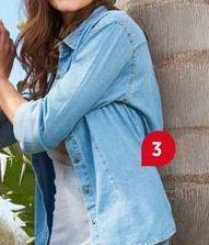 Oferta de Camisa jeans mujer por
