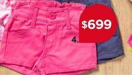 Oferta de Short niña por $699
