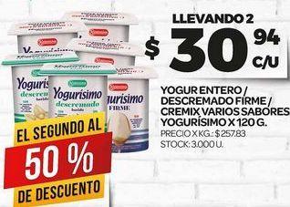 Oferta de Yogur Yogurísimo por $30,94
