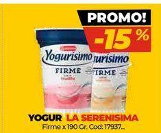 Oferta de Yogur La Serenísima por