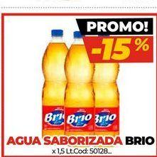 Oferta de Agua saborizada BRIO por