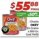 Oferta de Choclo Okey x 300gr por $55,88