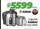 Oferta de Juguera KANSAI  por $5599