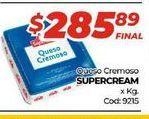 Oferta de Queso cremoso Supercream por $285,89