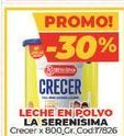 Oferta de Leche en polvo La Serenísima crecer x 800gr  por