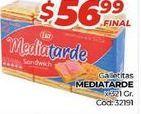 Oferta de Galletas Media Tarde x 321gr  por $56,99