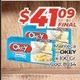 Oferta de Manteca Okey x 100gr  por $41,09