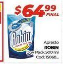 Oferta de Suavizante Robin DOYPACK X 500ML  por $64,99