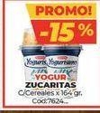 Oferta de Yogur Zucaritas c/cereales x 164gr por