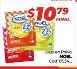 Oferta de Jugo en polvo Noel por $10,79