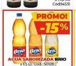 Oferta de Agua saborizada Brio x 1,5lt  por