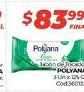 Oferta de Jabón de tocador Polyana 3 un x 125gr  por $83,99