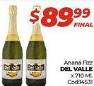 Oferta de Anana fizz Del Valle x 710ml  por $89,99